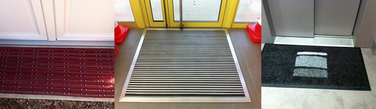 2Dmat. Les tapis d'entrée aident à prévenir des glissades et des chutes. Les glissages et les chutes sont les causes principales des accidents dans les maisons, hôtels, restaurants et entrées publiques.