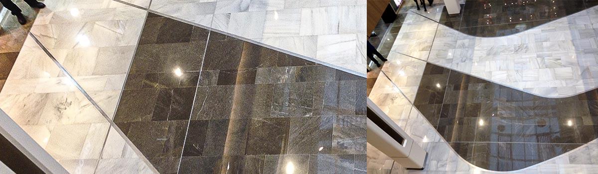 2Dmat profilés pour absorber la compression et la     dilatation des matériaux de sol et de mur en évitant les fissures anarchiques